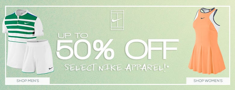 Nike 50% Off Select Apparel
