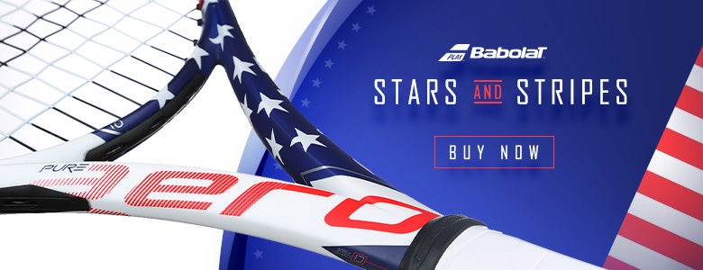 Babolat Stars and Stripes Racquet!