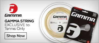 Gamma String Exclusive to Tennis Only