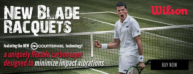 New Wilson Blade Racquets