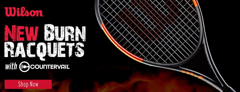 New Wilson Burn Racquets