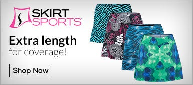 Skirt Sports Extra Length for coverage!