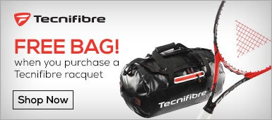 Free Tecnifibre Bag with Racquet Purchase