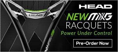 New Head MXG Racquets