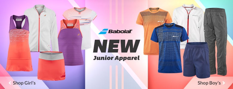 Shop New Junior Babolat Apparel