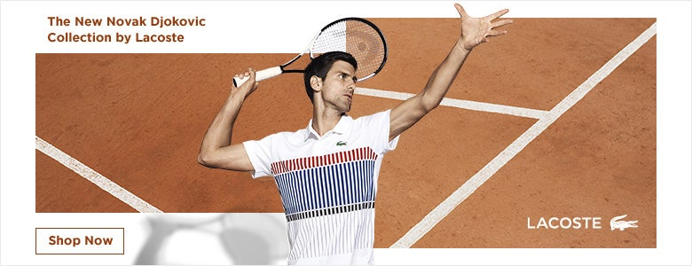 Shop the Lacoste Novak Collection!