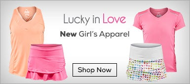 New Lucky in love Girls Apparel