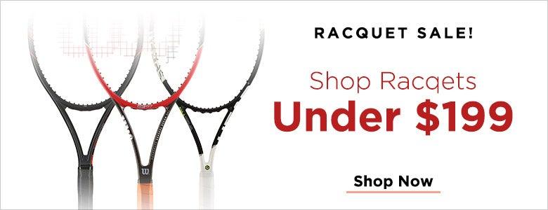 Racquet Sale!