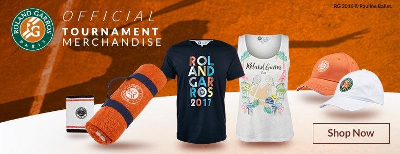 Shop Official Roland Garros Merchandise
