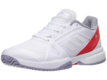 b52f67a71403d adidas Stella Barricade Boost White Red Women s Shoes