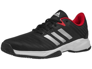 b5d4f45d9bfc adidas Barricade Court 3 Black White Red Men s Shoes