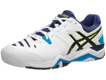e2c2b6bc09d4 Asics Gel Challenger 10 CLAY Wh Li Bl Men s Shoes