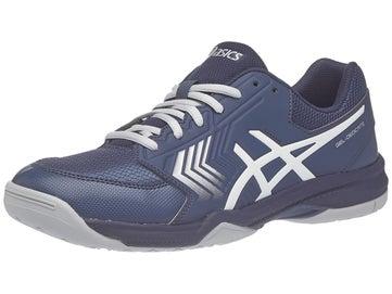 promo code 3264c 1f37b Asics Gel Dedicate 5 Blue Silver White Men s Shoes