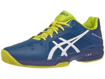 d1aa8f165bdf7 Asics Gel Solution Speed 3 Clay Bl Wh Sul Men's Shoes