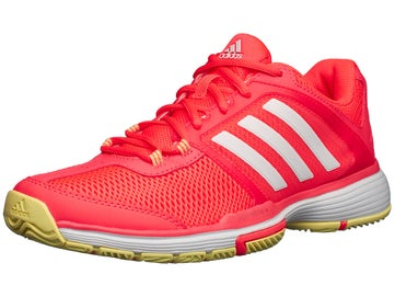 7c1c2a79d0cf1 adidas Barricade Club Red White Yellow Women s Shoes