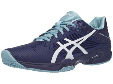 2b55f533 Asics Gel Solution Speed 3 Clay Blue/Wh Women's Shoes