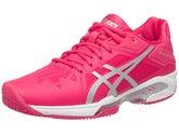 sale retailer 837d2 fdd3c Asics Gel Solution Speed 3 Clay PinkSil Womens Shoes