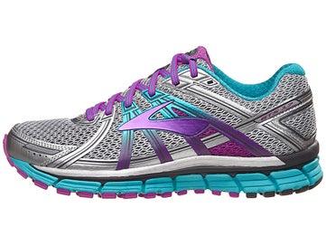 daced3861c4 Brooks Adrenaline GTS 17 Women s Shoes Silver Prpl Blue