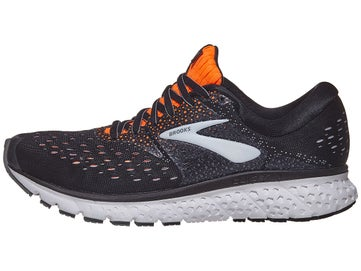 cab01610c93 Brooks Glycerin 16 Men s Shoes Black Orange Grey