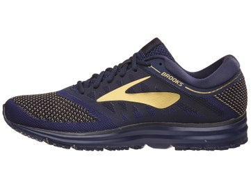 72b137a92e18f Brooks Revel Men s Shoes Navy Gold Black