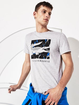 Lacoste Men S Spring Novak Fan T Shirt