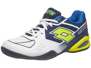 Lotto Stratosphere II CLAY Bl Wh Ye Men s Shoes f05db18de51