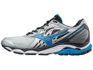 d130d0f36125 Mizuno Wave Inspire 14 Men s Shoes Silver Blue 2E