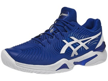 8a735671 Asics Court FF 2 Novak Blue/White Men's Shoes