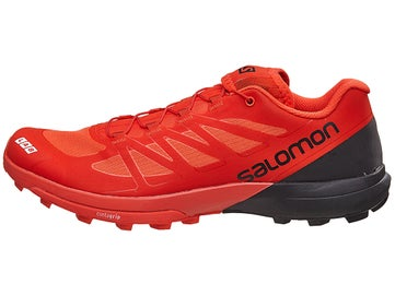 hot sale online acad7 67065 Salomon S-Lab Sense 6 SG Unisex Shoes RacingRed Blk Wht