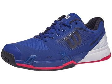 cb2fdfba6a3f Wilson Rush Pro 2.5 Blue White Red Men s Shoe